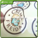New design adhesive waterproof transparent pvc sticker,die cut transparent pvc vinyl sticker