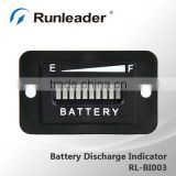 LED Battery Discharge Indicator for Golf Cart Electric Vehicle 12V 24V 36V 48V 72V                                                                         Quality Choice