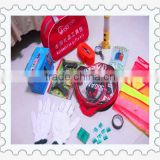 mini emergency kit with medcial tools for home/travel/ office/car