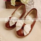 2015 Country Style Girl Princess Shoes Kids Single Shoes Children Best Choice