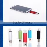 8GB 16GB 32GB Factory price smart phone android OTG mobile phone usb flash drive for both android and PC