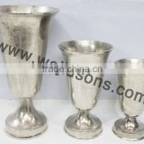 Between simple and modern style metal ornaments home decorations factory direct model soft trumpet vase []