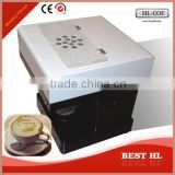Hot sell latte printer , can print on the milk tea,the coffee etc directly with the edible ink