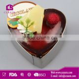 stainless steel heart-shape cookie cutter