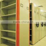 Storage Solution Mechanical Type Metal Shelving For Libraries/Movable Shelving For School Library