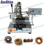 (SS900B6 series final coil OD 10~81mm)automatic toroidal balancing choke coil winding machine