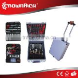Stock Germany design 186pcs hand tool set, stock tools, stocklots 186 tool set, stock tool with luggage packing