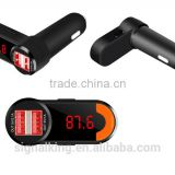 Wholesale Bluetooth Car Kit Bluetooth Car Kit Handsfree FM Transmitter Car Bluetooth Transmitter MP3 Player