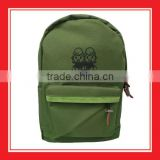 Top Quality Products Bros Baby Rinne Sitting Printed 600D Army Green Polyester Backpack For School