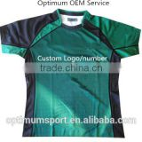 Rugby Jersey / Custom Sublimation Printed Rugby Jersey / Rugby Shirt With Custom Team Name And Logo Print