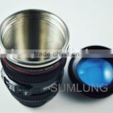 SL-KW1 Lens Cup for Canon Camera stainless steel travel Lens cup , water coffee cup , gift cup , vacuum cup