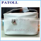 New arrival white basics cosmetic bag