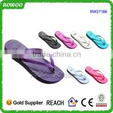 Colorful Nice design Beach PVC Upper Material Glowing Flip Flops