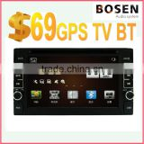 car dvd player with Navigation system wholesale price 6.2 inch touch screen