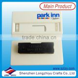 Reusable Magnetic Plastic Name Badge Holder With Paper Card,ABS Name Tags With Magnet                                                                         Quality Choice