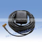 mini gps patch antenna passive&active ford car gps antenna with stong magnetic base and RG174 cable                                                                                                         Supplier's Choice