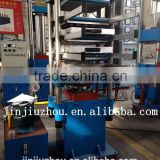 rubber paver tile vulcanizing press / interlock rubber tiles hydraulic press machine / rubber floor hot molding press