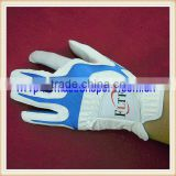 quality exquisite female cabretta leather golf gloves