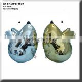 chrome plating rat ceramic saving bank