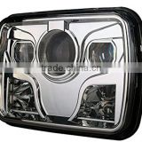 5x7 Rectangular Projector LED Headlight Sealed Beam Replacement with CRE-E Chips for truck motorcycle