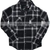 Wholesale casual flannel ladies designer shirt,plain dyed 100% cotton long sleeve plaids pattern flannel shirt