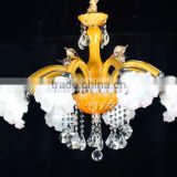 Brand new crystal imitation indoor antique brass copper chandelier                                                                         Quality Choice