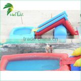 most popular water slide for inflatable pool for kids                                                                         Quality Choice