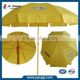 Patio Umbrellas With Base Wholesale High Quality Advertising Stripe Fabric Beach Umbrella