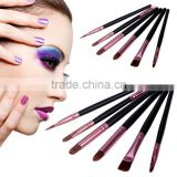 Wholesale 6 pcs Basic Eye Makeup Brush Set Including Blend Eyeshadow brush blush brush SV008763