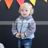 DB1546 davebella 2014 winter wholesale infant coat babi clothing chenillie jacket baby fashion outwear clothes