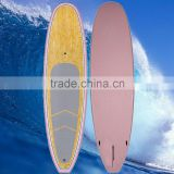 Bamboo Stand Up Paddle Board with Paddle painting SUP Blue cheap paddle board High Quality