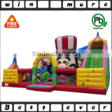 China popular hot sale interesting inflatable toy fun city, inflatable slide amusement park for sale                                                                                                         Supplier's Choice