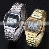 Hot selling multifunctional F-91W fashion watch alarm clock students watch digital watch man watch