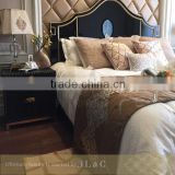 Newly Customized King Size Bed With Headboard RB01222 From JLC Furniture