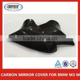 Real Carbon Fiber Side Mirror Cover Replacement 2PCS Pair for BMW M3 F80 M4 F82