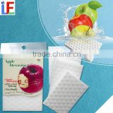 No detergent foam sponge scrubber for fruit cleaning