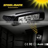 2015 SteelmateTP-S1 solar power tpms motorhom, waterproof pressure sensor, auto tyre charging hose and gauge