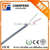 Factory price 2 cores Flat Telephone cable