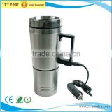 Autoline 400ml stainless steel car travel heated mug