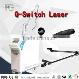 Q Switch Nd Yag Hori Naevus Removal Laser Rod Tattoo Removal Machine Pigmented Lesions Treatment