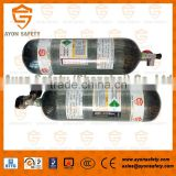 Carbon fiber composite cylinder/carbon fiber gas cylinders/Air cylinder/air bottle Made in China with 3L/6.8L/9L for SCBA