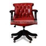 Chesterfield Deluxe Leather Executive Armchair