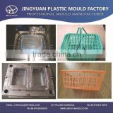 2014 china OEM high quality plastic fish basket mould manufacturer /Custom plastic injection fish crate box mold supplier
