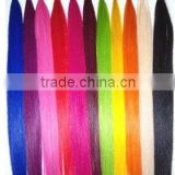 DARK COLOR 1B# STICK TIP FUSION REMY HAIR BLOND COLOR- BLOND TIP FUSION WEFT- FUSION HAIR