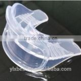OEM item teeth whitening product home use silicon mouth tray with Home teeth whitening light