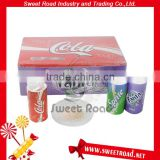 Multi-Taste Coconut Flavored Soda Water Flavor Dry Powder Candy