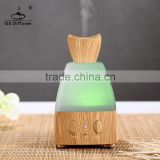 GX Diffuser perfume diffuser/battery operated aroma diffuser/ aroma diffuser light wood colour