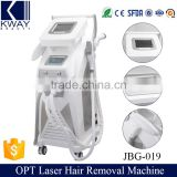 Salon beauty ipl hair removal machine /commercial laser hair removal machine price