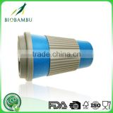 OEM available Popular Food grade bamboo coffee cup disposable