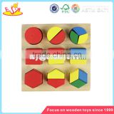 wholesale inexpensive wooden block puzzle toy funny wooden block puzzle toy for children W14A094